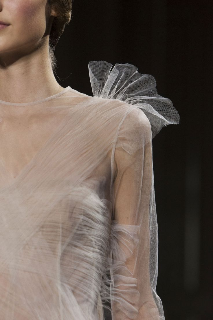 Valentino Sheer Tulle via Pinterest